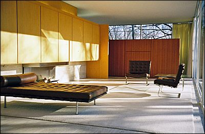 Mies Van der Rohe > Fansworth House, Illionis 03