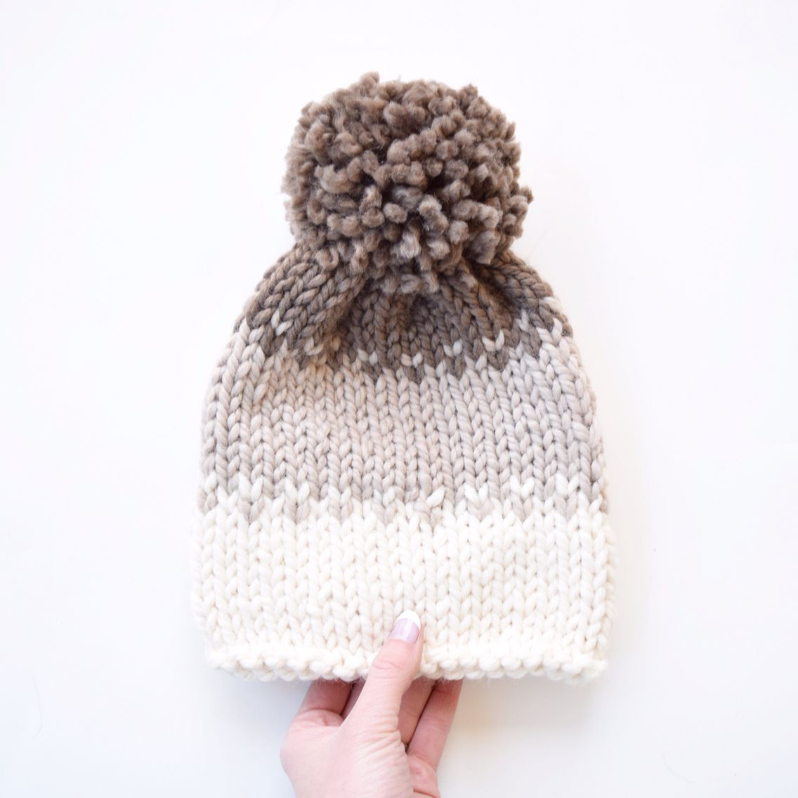 Ombré slouchy hat || pattern by Country Pine Designs ...