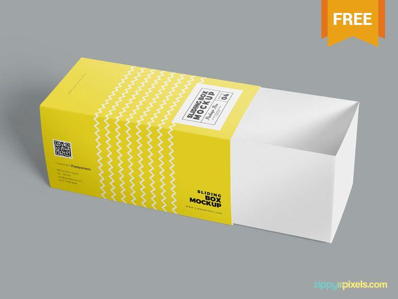 Download 3 Free Drawer Box Mockups Psd Box Mockup Color Design Inspiration Typography Alphabet