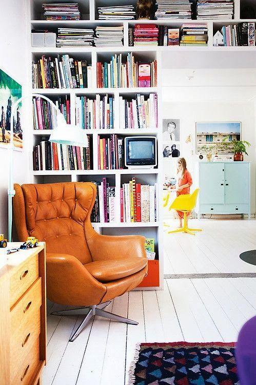 EL JARDIN DE LOS MUFFINS: Blog de Interiorismo y Decoración Vintage.: Rincones de Lectura de Inspiración Vintage