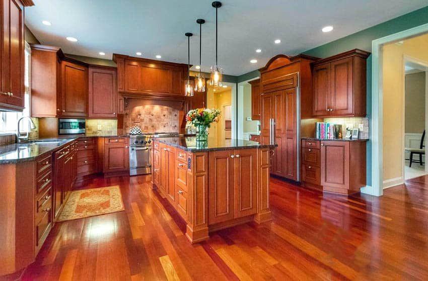 Cherry Hardwood Flooring Popular Types & Design Ideas ...