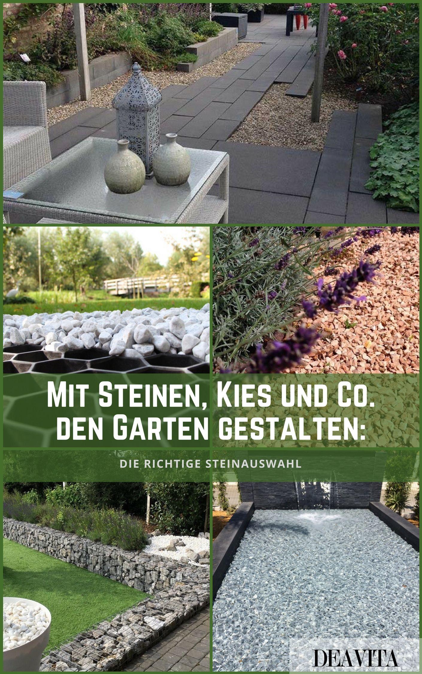 Eitelkeit Gartengestaltung Mit Steinen Beste Wahl Steinen, Kies Und Co. Den Garten Gestalten: