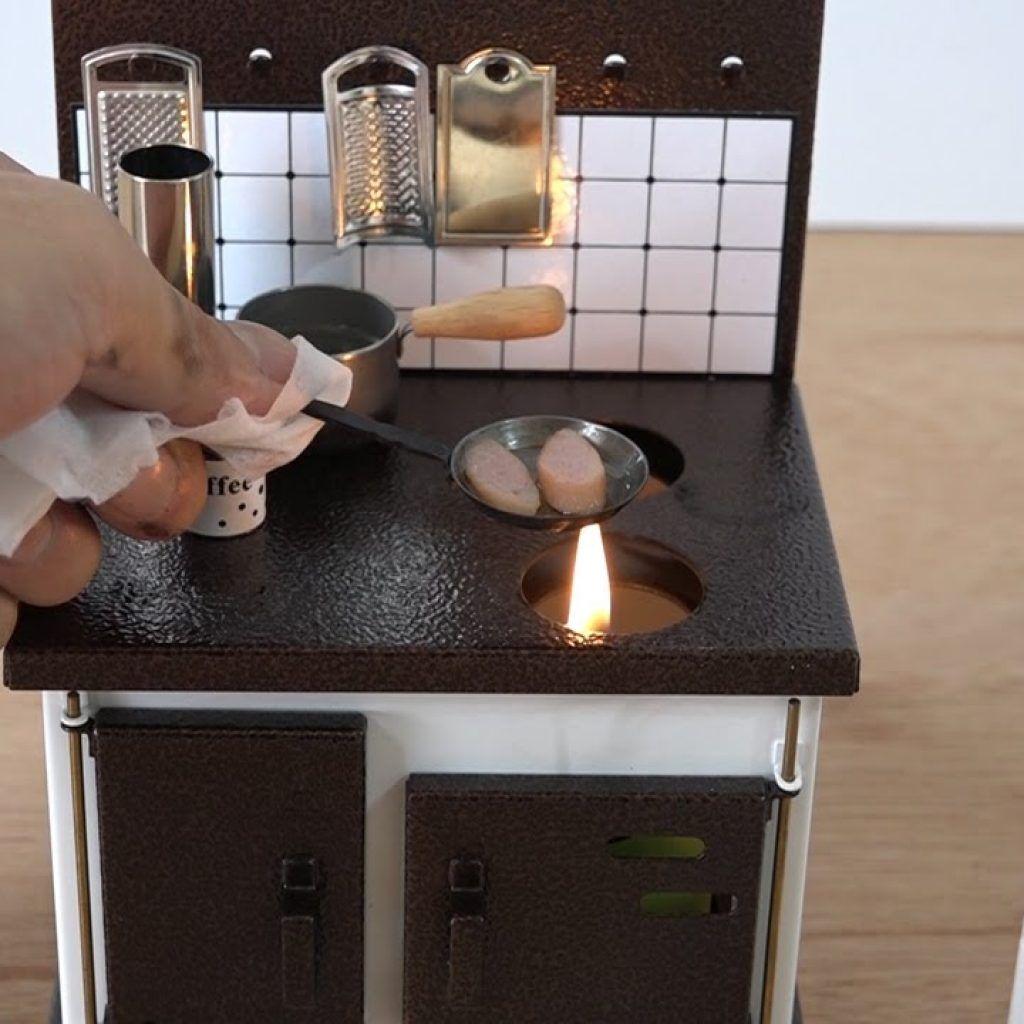 Japanese miniature kitchen set real kitchen mini kitchen miniature kitchen toy kitchen