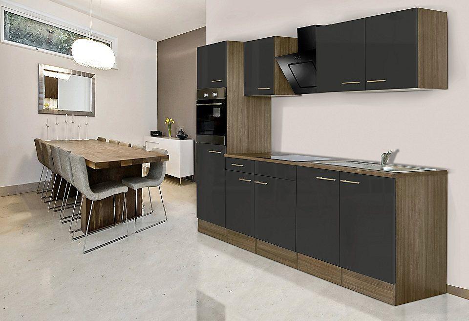 Respekta Küchenzeile mit E-Geräten »York«, Breite 270 cm Jetzt - küche 270 cm