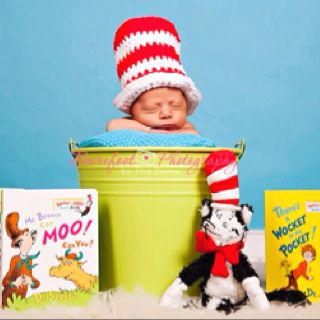 Crochet Dr Seuss Cat In The Hat Top Hat Crochet Creations