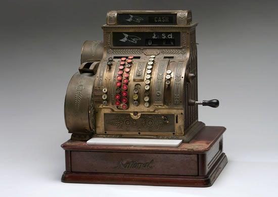 1920s Cash Register