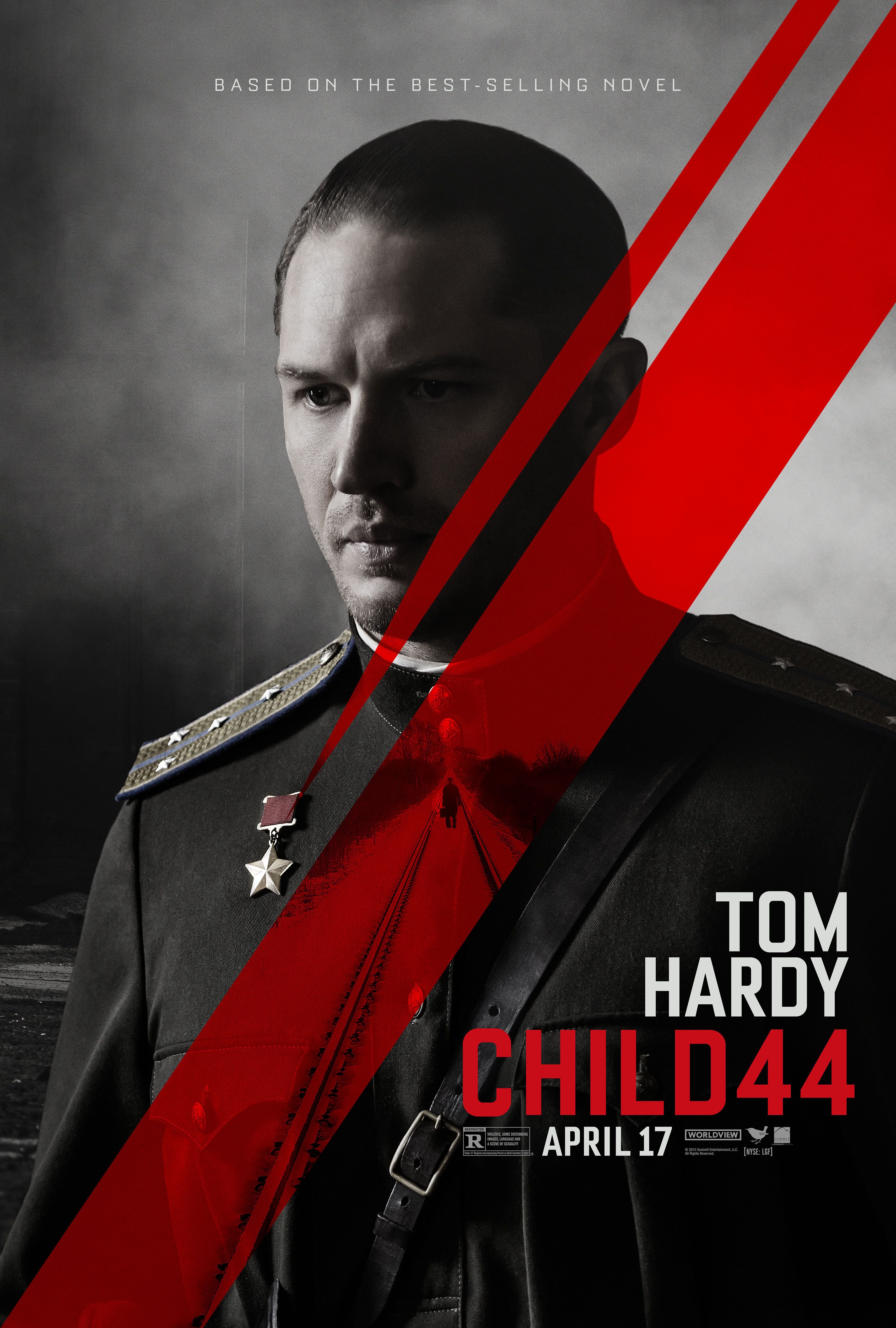 Child 44 movie posters featuring tom hardy gary oldman