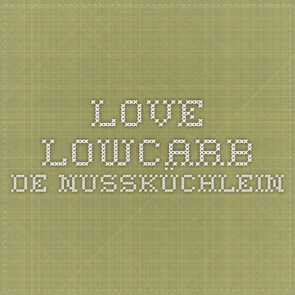 love-lowcarb.de NussKüchlein