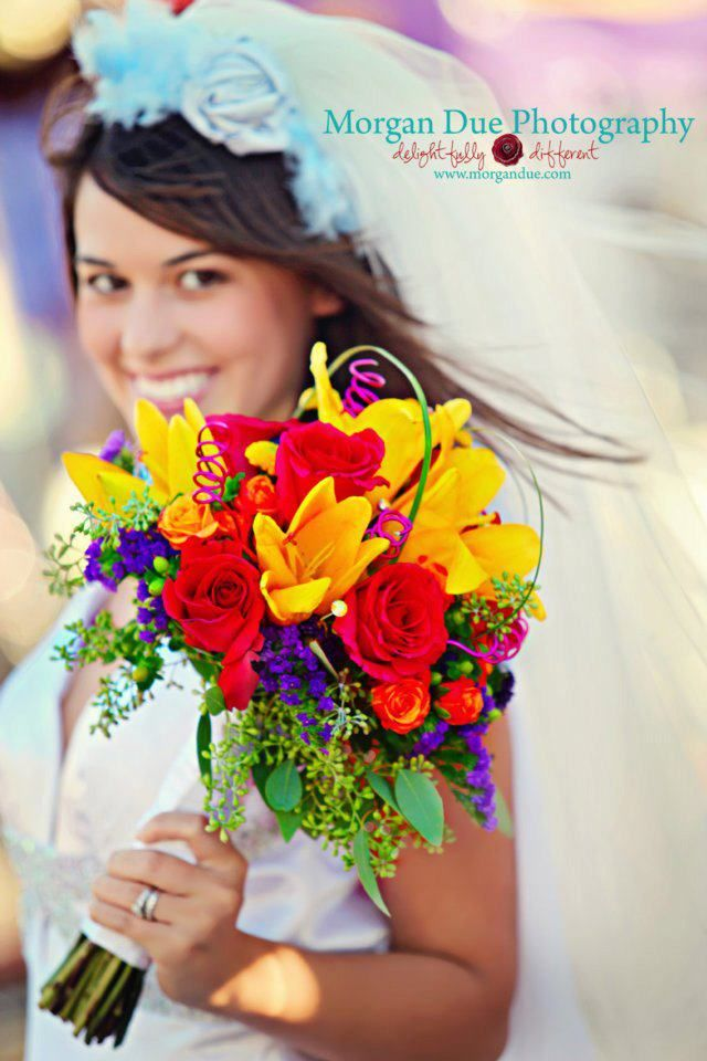 I Just Love The Bright Colors In This Bouquet I Will Probably Add