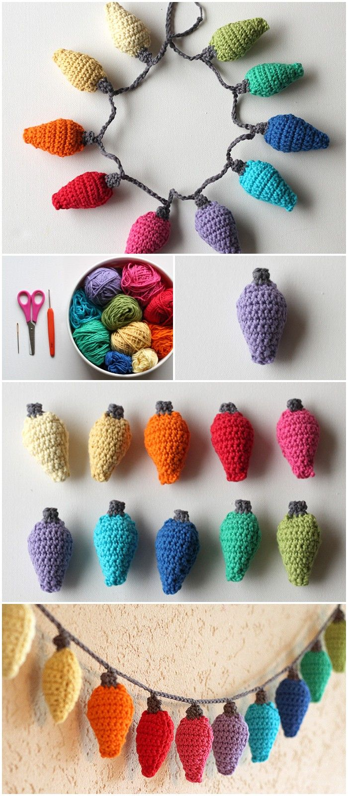 Crochet Christmas Ornaments – Free Patterns and Tutorials