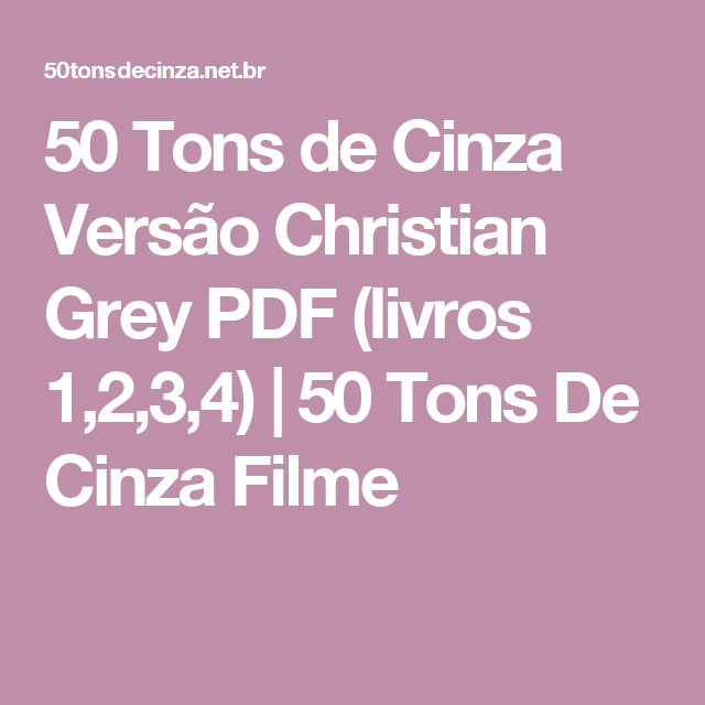 50 tons de cinza filme download gratis