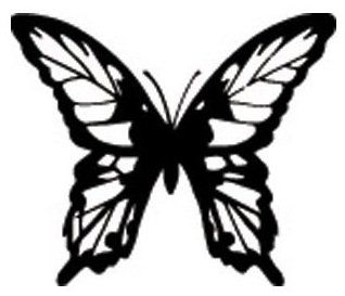 b #butterfly for #Coloring #Books