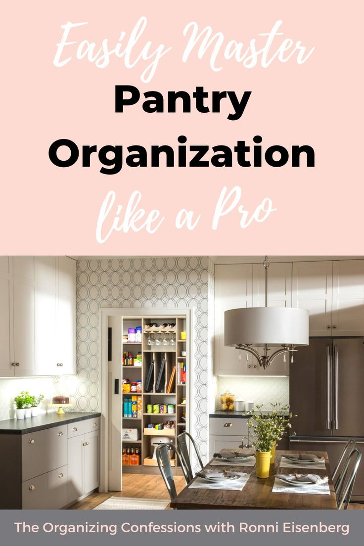 How to Easily Master Pantry Organization like a Professional - The Organizing Confessions