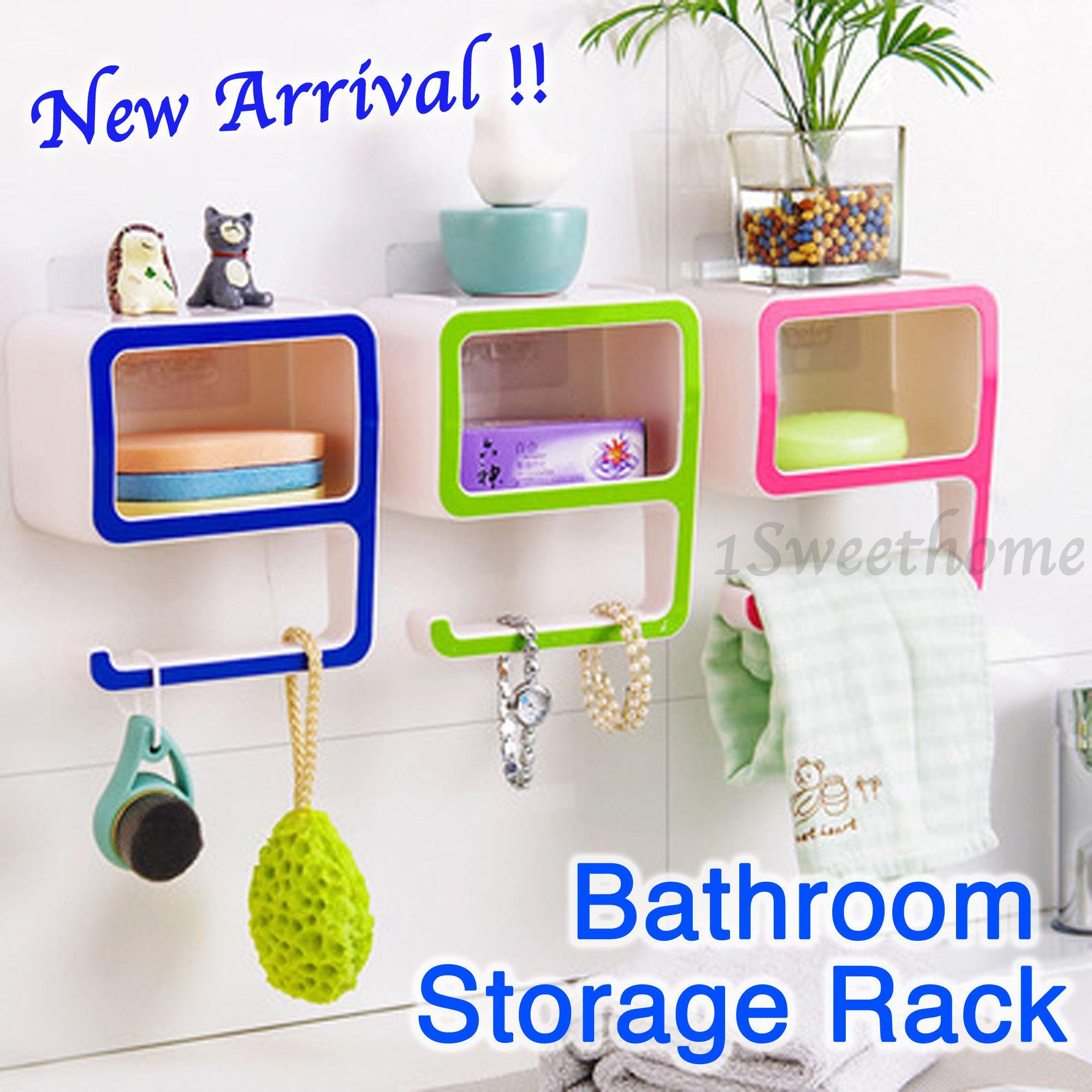 990▽61%☆Bathroom Storage Rack☆Bathroom Accessories Storage Adorable Bathroom Storage Containers Review