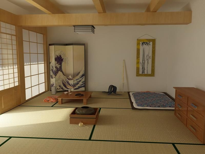 Interior Traditional Japanese Bedroom Japanese Interior Design