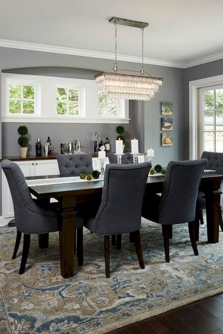 Dining Room Dark Romantic: 30+ Awesome Dining Room Lighting Ideas For Big Family