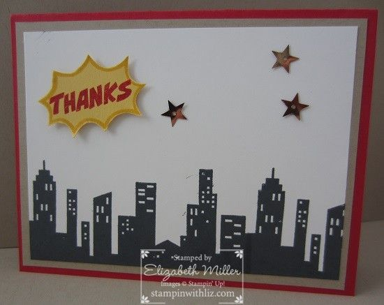 Calling All Heroes Photopolymer Stamp Set - Stampin' Up!