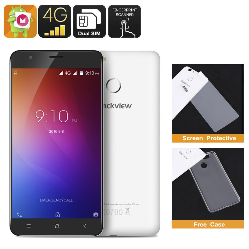 Blackview E7 Smartphone Android 6.0, 5.5 Inch HD Display