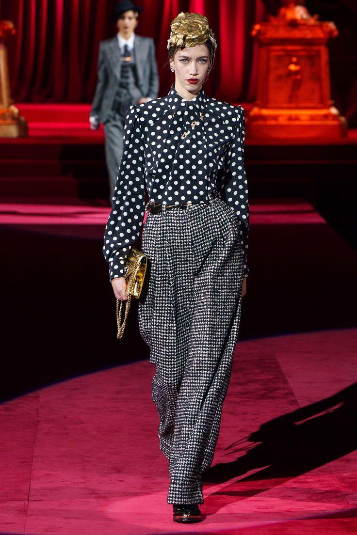Sfilata Prêt-à-porter autunno e inverno 2019 Dolce & Gabbana – #Dolce #Fall #Fashion #Ga …