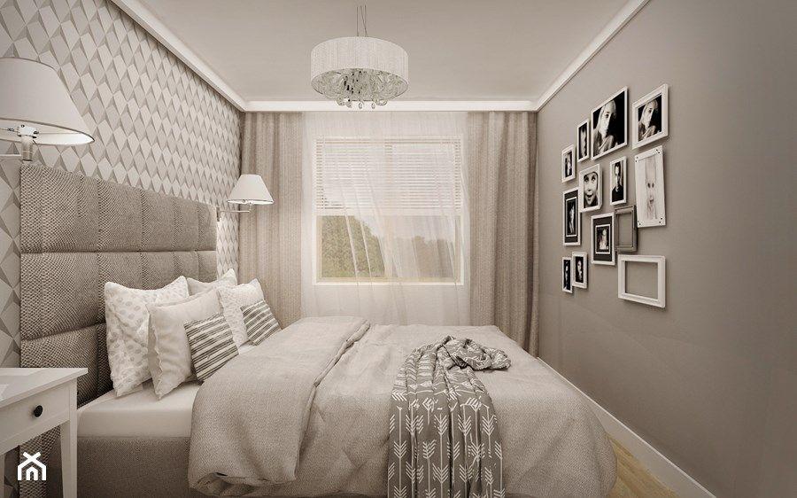 Znalezione obrazy dla zapytania aranżacja wąskiej sypialni ...