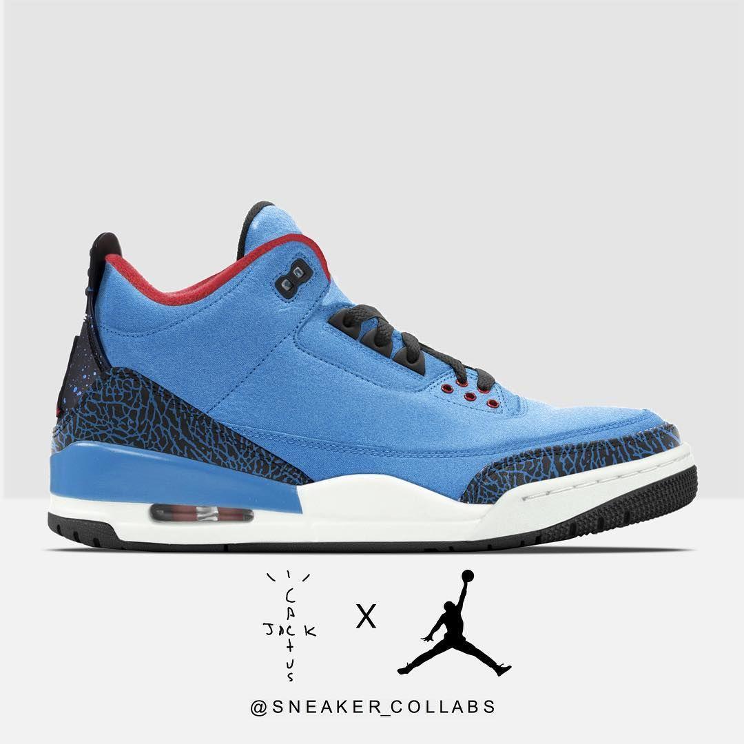 Cactus Jack x Air Jordan 3 | Air