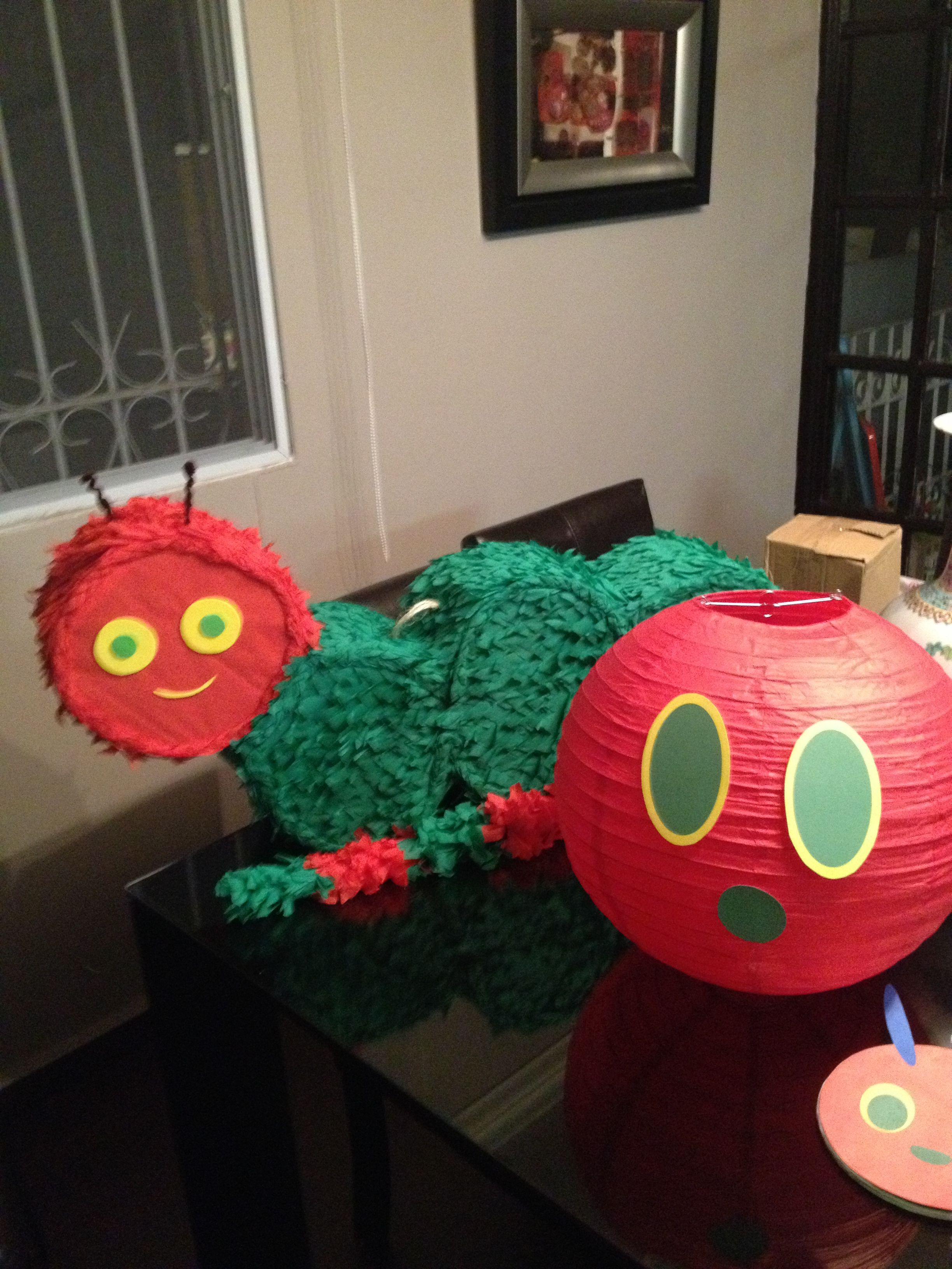 The very hungry caterpillar birthday | Birthday: VHC | Pinterest