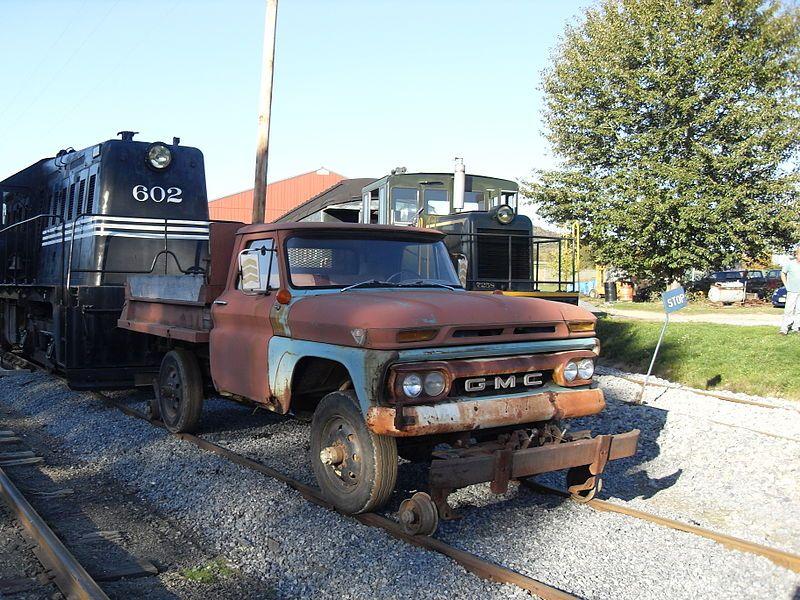Hi Rail Truck Mow Hyrail Vehicles Gmc Trucks