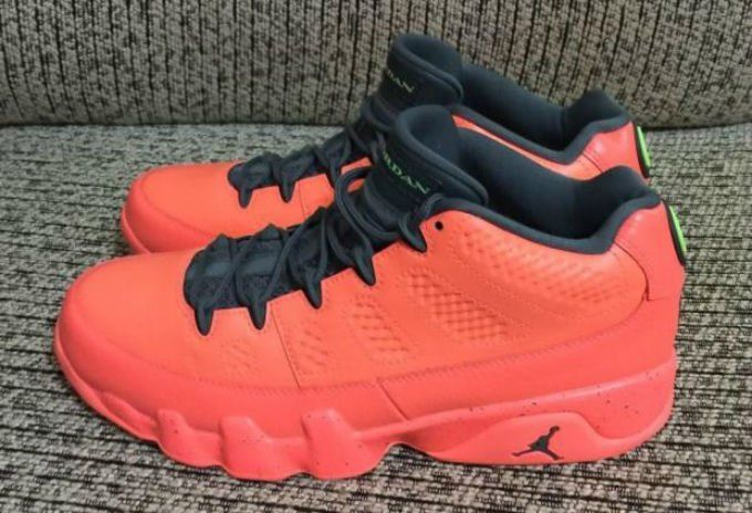 factory authentic 17276 13f4b ... usa theres a red air jordan 9 low top releasing this year b09a8 6e7b4
