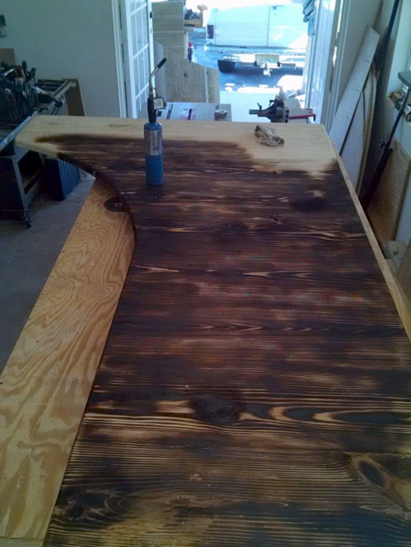 DIY Plywood Flooring Wood Floors1 in 2020 Plywood