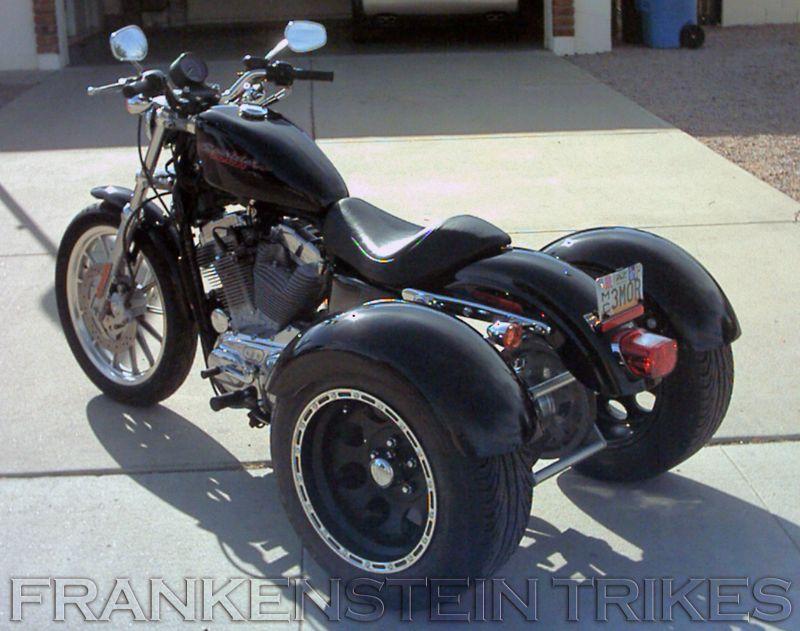 Harley Davidson Sportster Trike Kit Harley Davidson Trike Classic Harley Davidson Harley Davidson Motorcycles