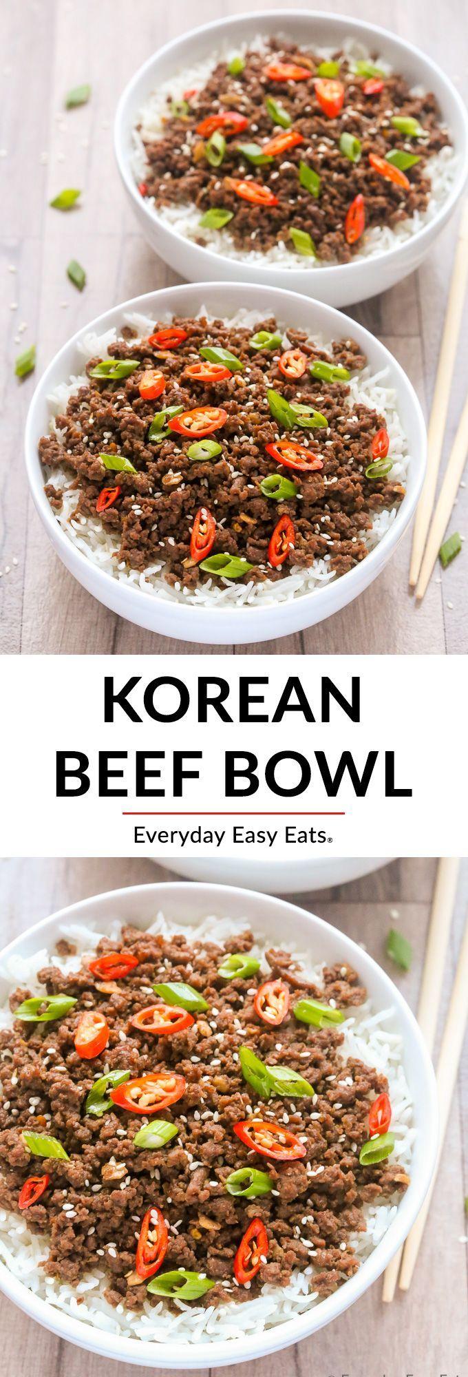 Korean Beef Bowls images