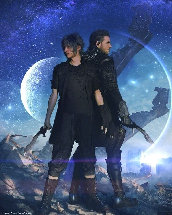 Image result for Noctis and nyx
