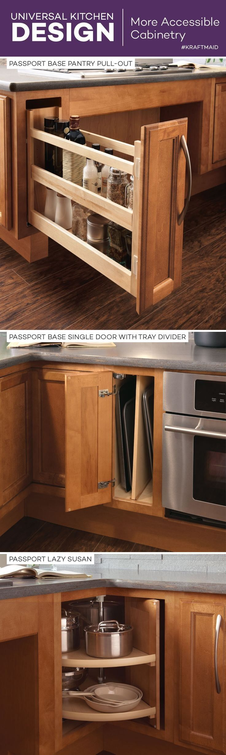 Universal Kitchen Design Ideas Check more at http://www ...