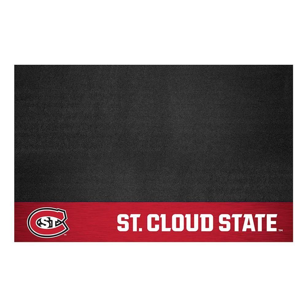 St Cloud State Huskies NCAA Vinyl Grill Mat