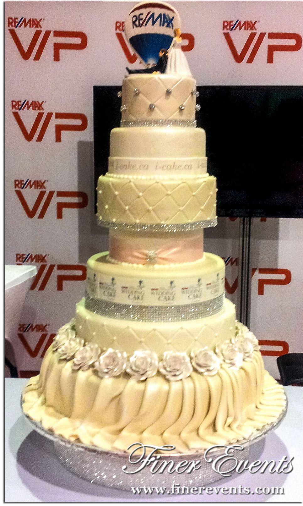 wedding cakes boss cakes | above the gorgeous wedding cake designed ...