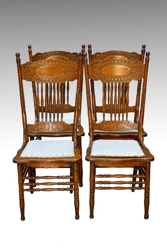 SOLD Antique Set of 20 Press Back Gardner Grape Dining Chairs | Antique  dining rooms, Dining chairs and Sell antiques - SOLD Antique Set Of 20 Press Back Gardner Grape Dining Chairs