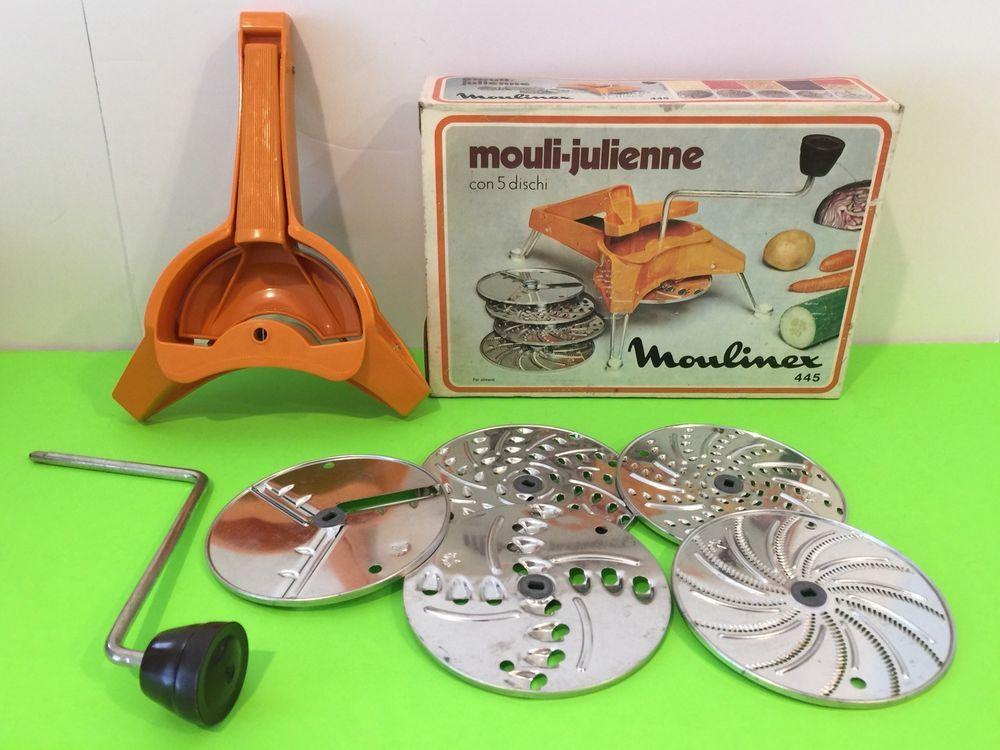 Moulinex Küchenreibe ~ Vintage moulinex mouli julienne disc grater shredder slicer