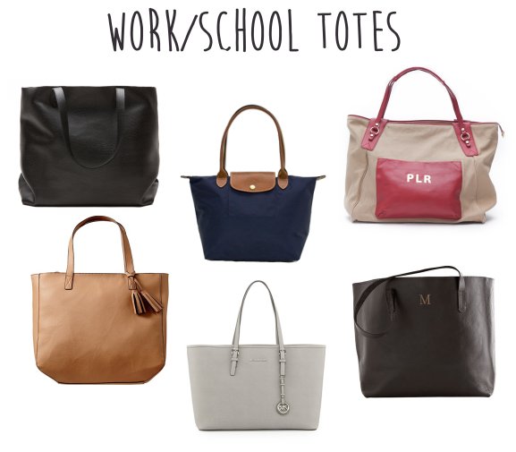 6cd90022fa Work Totes that are cute and big enough for a laptop!- i have the navy  longchamp for the fall semester!
