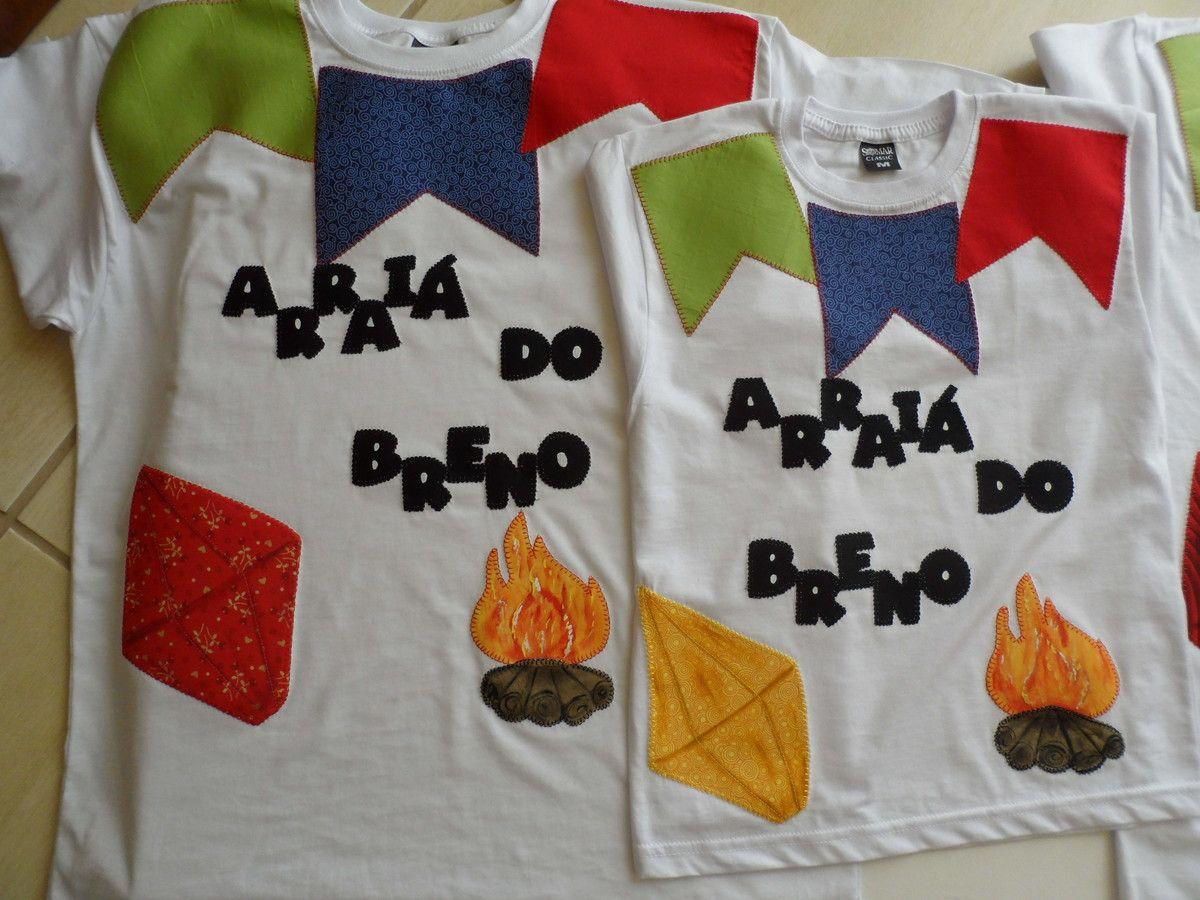 Camiseta Festa No Arrai Camisetas Camisas Y Costura ~ Ideas Para Decorar Camisetas Infantiles