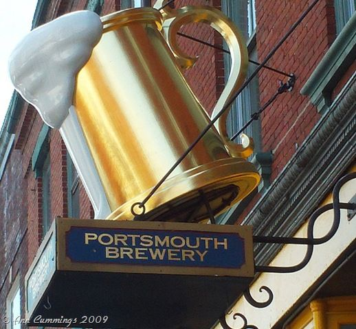 Portsmouth Brewery, Portsmouth, NH - Best Bloody Mary and the best 'pub' food I've had... and I have been to a LOT of pubs in my day!