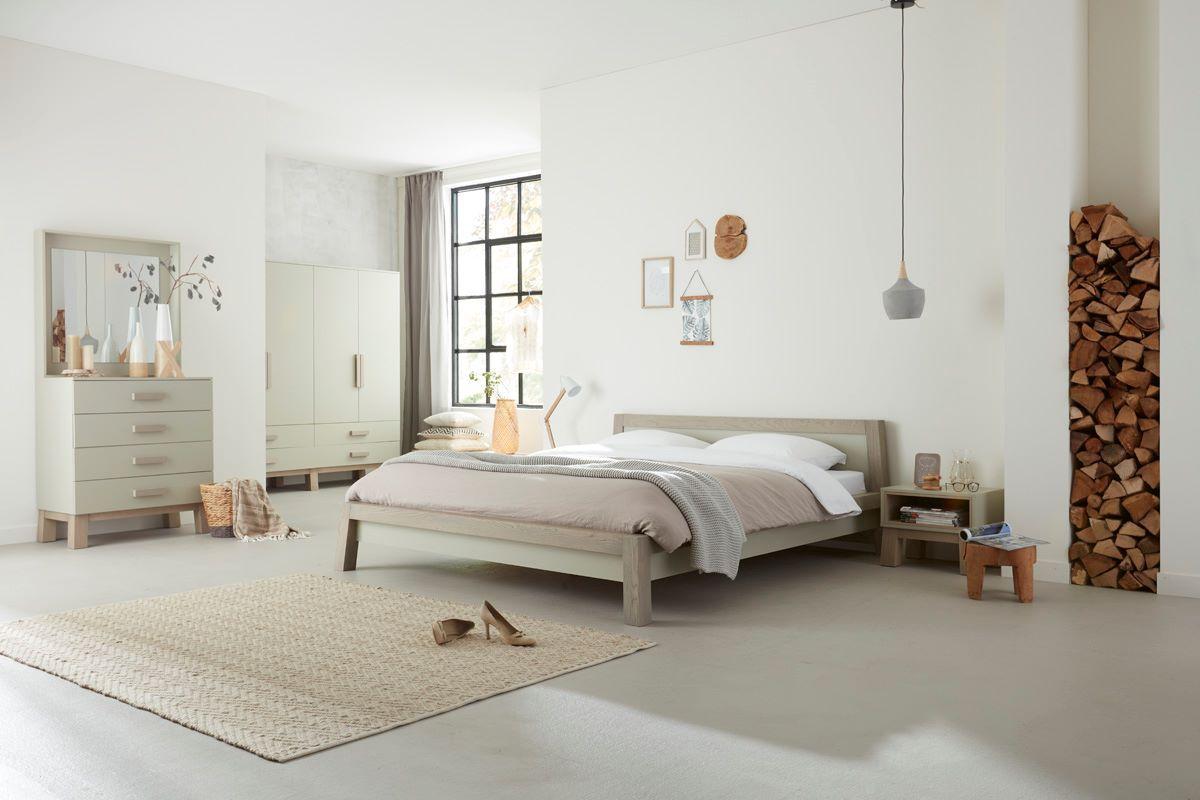 Aldenhuijsen ledikant robuust bicolor luxebedden be decor