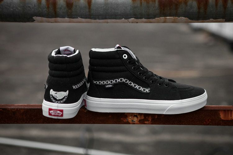 3209e20ae4fd98 Vans Sketchy Tank x Vans SK8-Hi Black High Top Shoe Vans For Sale  Vans