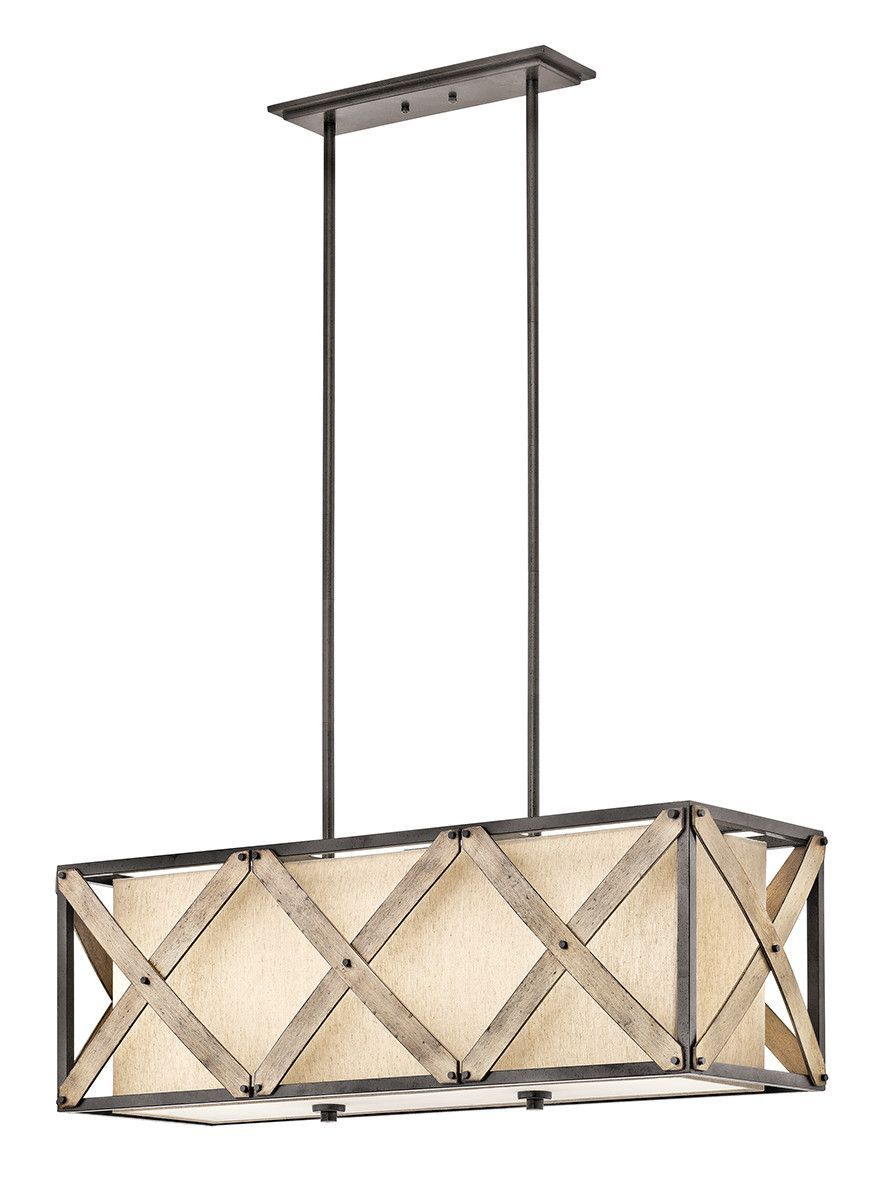 Features: -Cahoon collection. -Number of lights: 3 . -Finish: Anvil ...