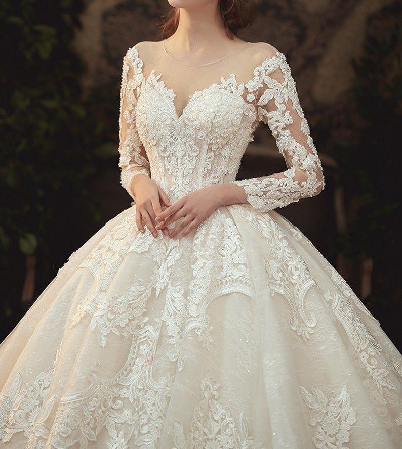 Elegant Wedding Dress – French Style – Say Yes To The Dress