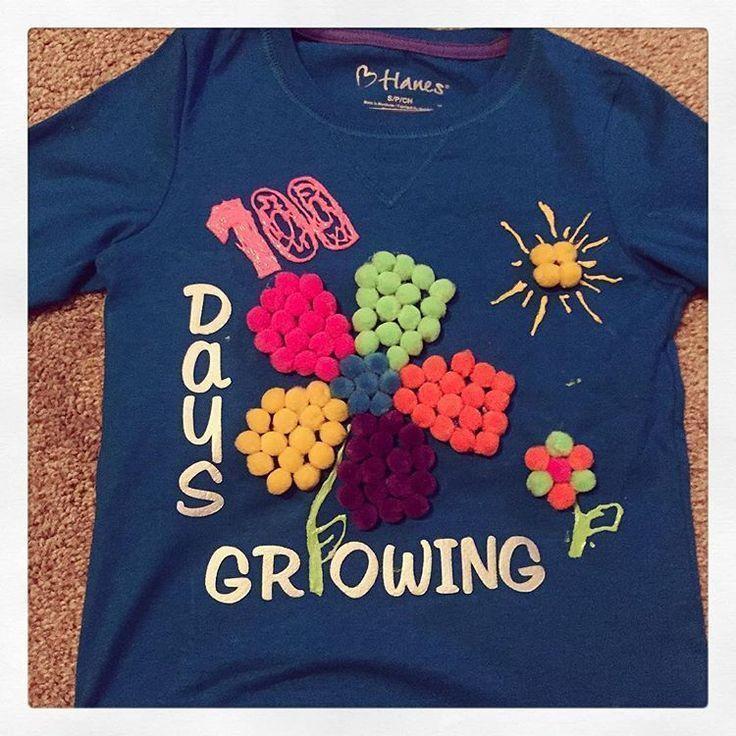 Abbies 100th day of kindergarten shirt! So proud of her #kindergarten #100h K - Kindergarten Shirt