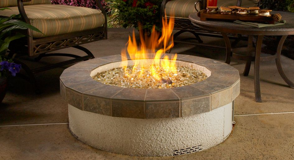 Extraordinary Outdoor Gas Fire Pit Lowe S With Images Glass