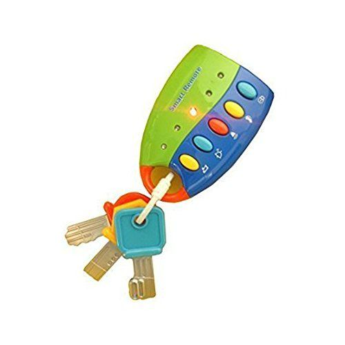 Flash Music Smart Remote Car Key Baby Toy Baby Toys For 12 Months