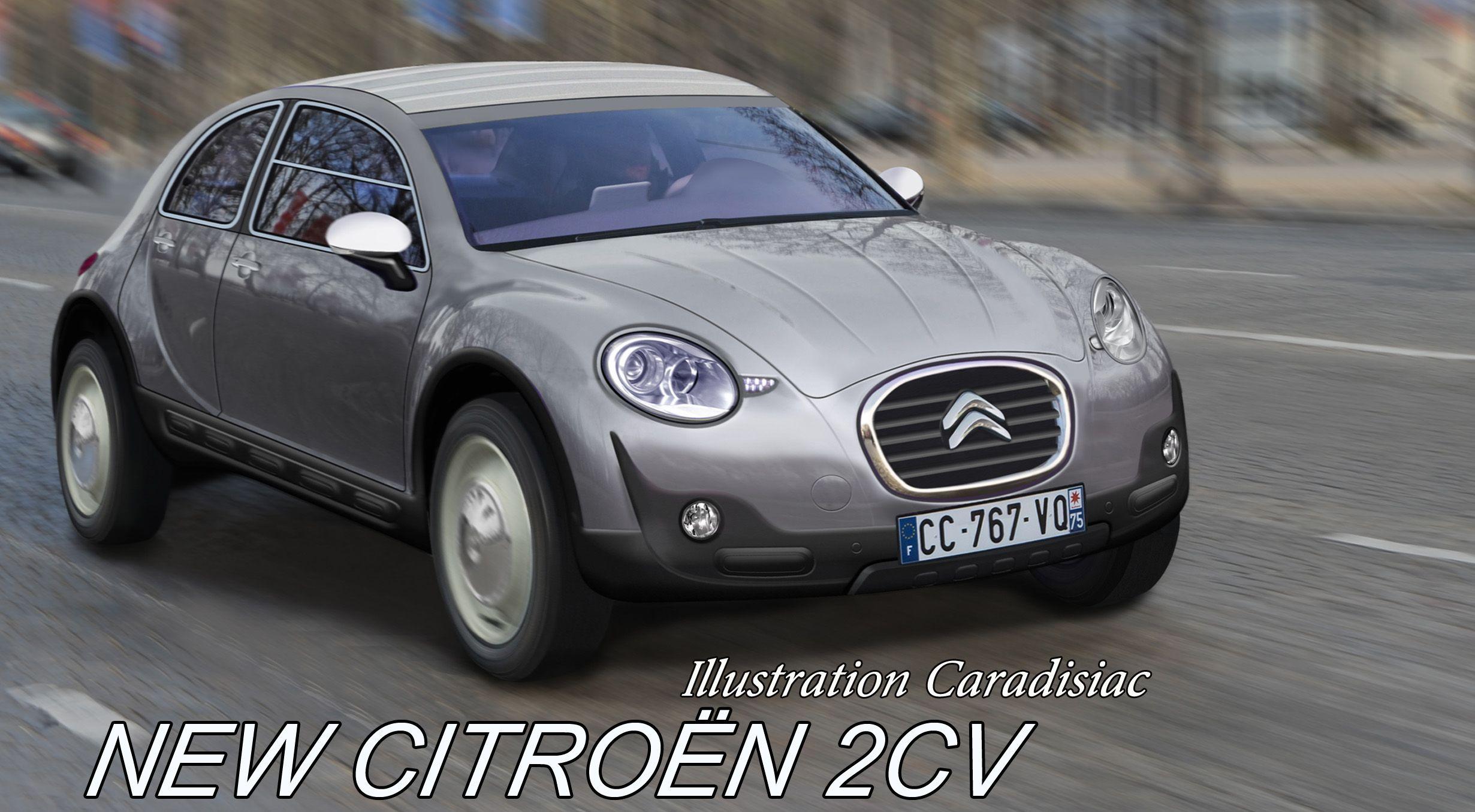 S0 Nouvelle Citroen 2 Cv Portrait Robot D Une Revolutionnaire 365560 Jpg 2461 1355 Citroen Concept Citroen Futuristic Cars