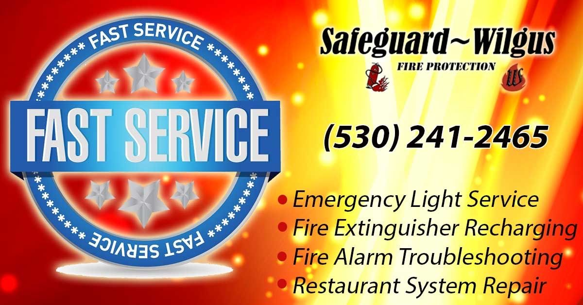 Fire Protection Services Redding CA (530) 2412465