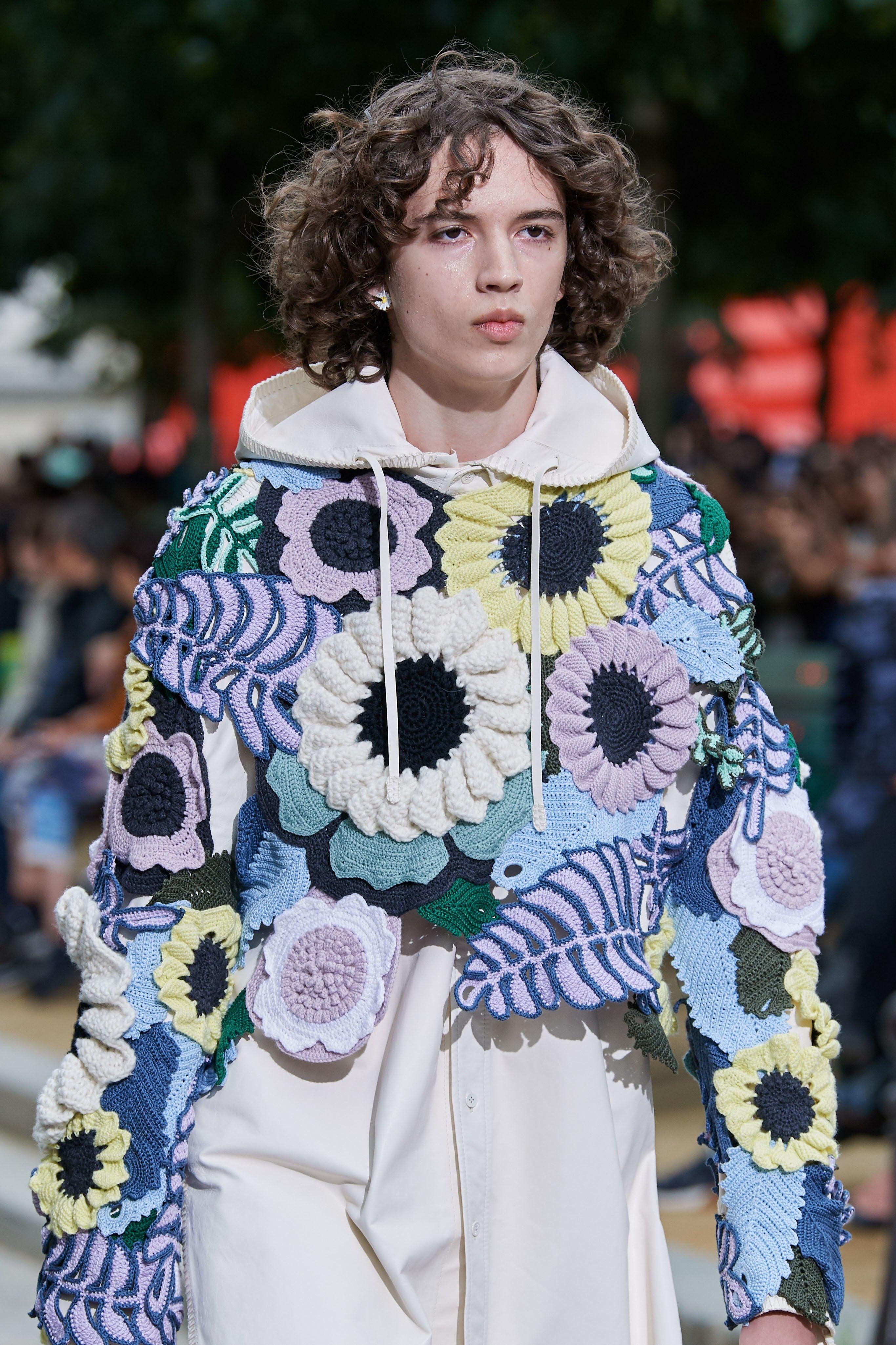 Louis Vuitton. Knitting trend: Knitwear 8 - 8  Knit fashion